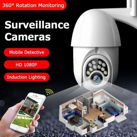Camera Supraveghere Wireless rotative, WIFI si Card.Diverse Modele