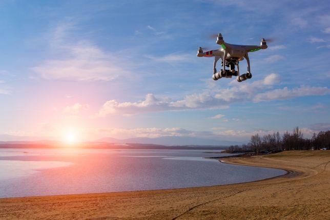 Filmari aeriene, Filmare cu drona, aparatura profesionala