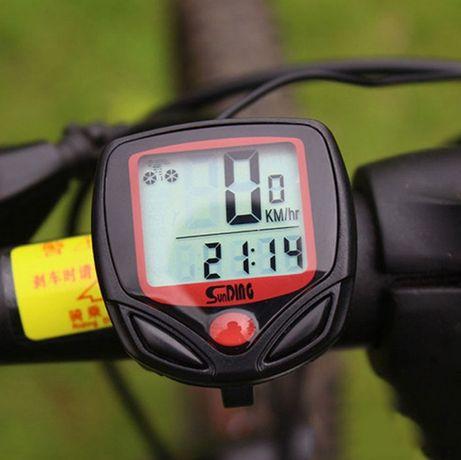 Километраж скоростомер за колело велосипед велокомпютър водоустойчив L