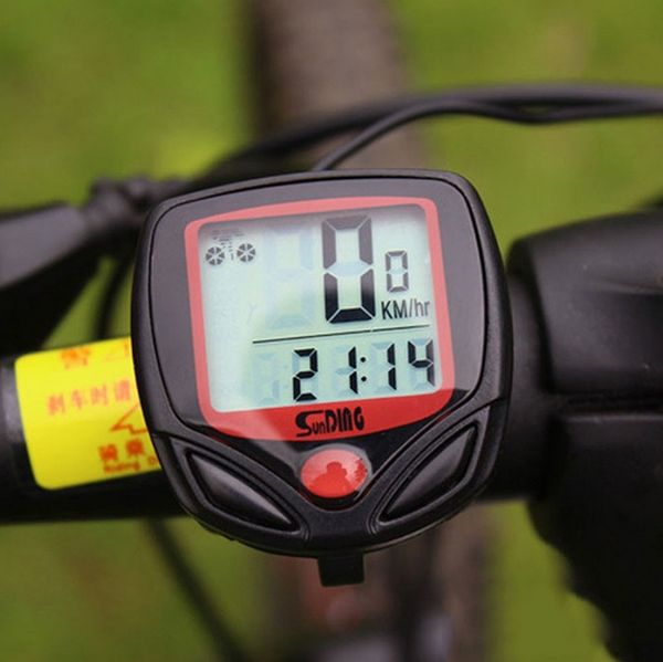 Километраж скоростомер за колело велосипед велокомпютър водоустойчив L гр. Хасково - image 1