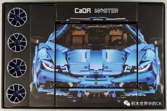 Lamborghini Centenario Supercar CaDa Lego 3284ч. 1:8 59см.