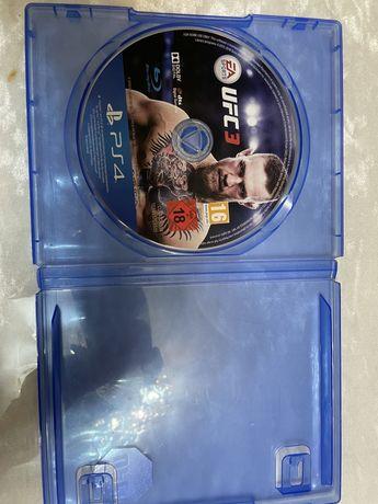 UFC 3 диск для плестейшн 4