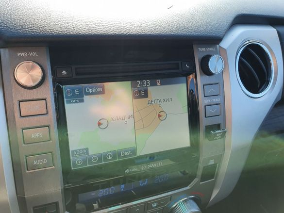 Европейска Сд Карта Американски Канадски Toyota Lexus Gen.8/9 Micro Sd