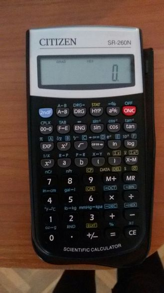 Продавам нов калкулатор