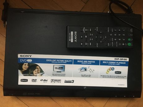 DVD Sony DVP-SR100