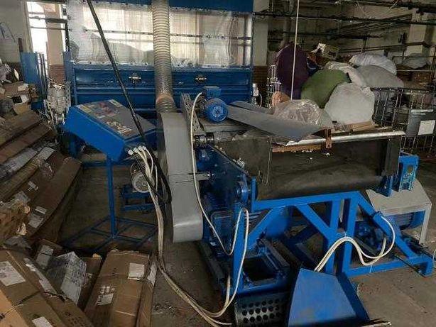 linie reciclare presa balotat
