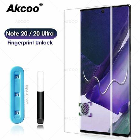 UV Стъклен Протектор за Samsung Galaxy Note 20 / 20 Ultra с течно лепи