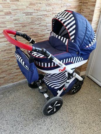 Бебешка комбинирана количка Vouge Blue Marine - Nio 2 В 1