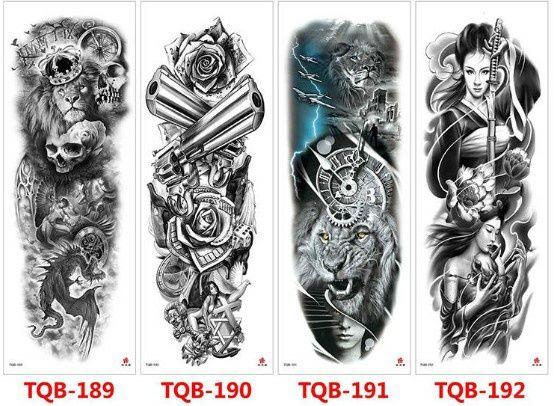 Временни татуировки-нови
