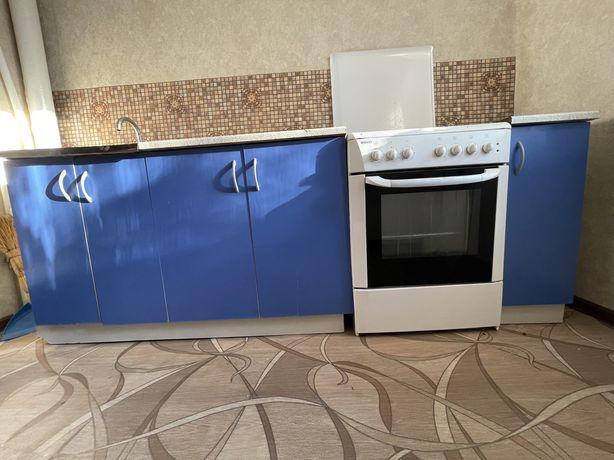 Продам кухоный гарнитур+плита