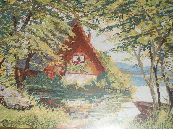 гоблен Слънчев кът-оригинал на Вилер