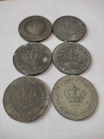 Lot 6 monede 20 de lei 1942-1944