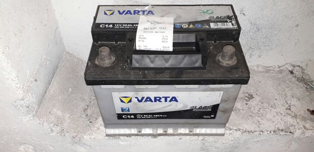 acumulator baterie varta 52 AH aproape noua ,VERIFICATA