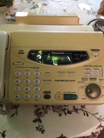 Факс , телефон , секретар KX-FP121