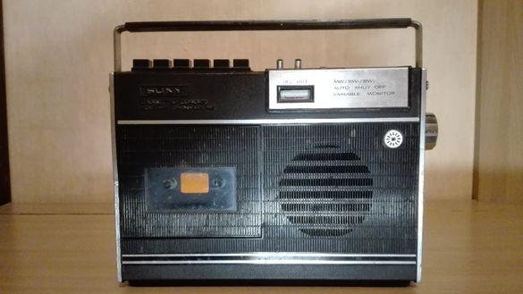 Радио,касетофон SONY