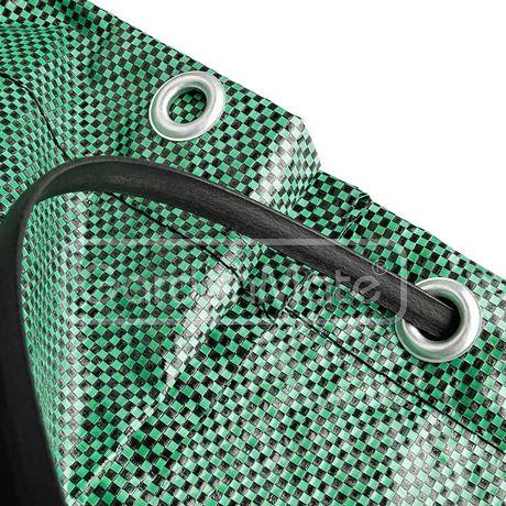 500-литрова градинарска чанта за градинарство, полипропиленова тъкан