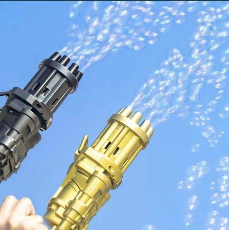 Игрушки пузырёк пистолет