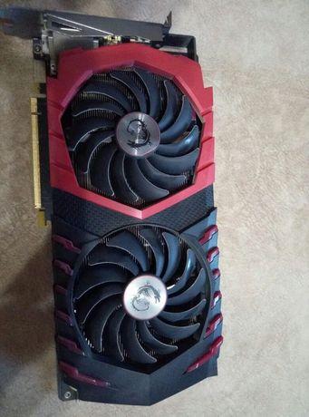 Продам MSI GeForce GTX 1080 GAMING X 8GB