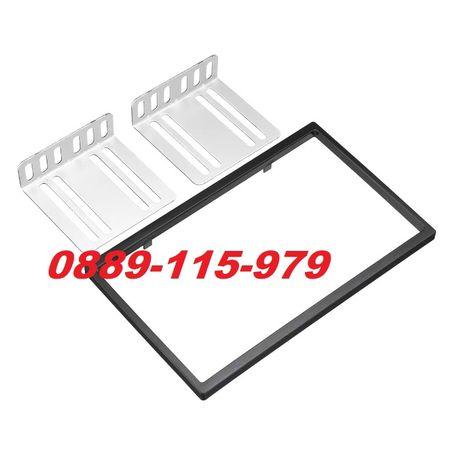 Универсална рамка с планки за двоен дин мултимедия за кола double din