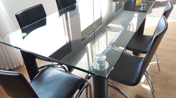 Кухненска маса със столове + холна маса