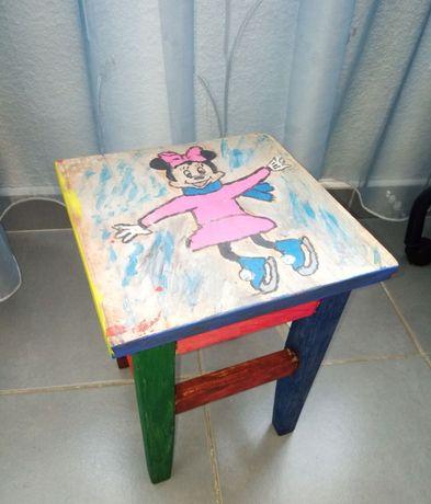 Scaun pt copii din lemn