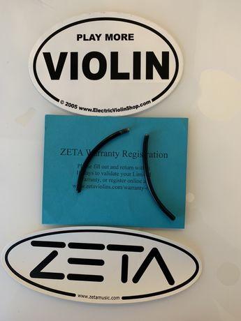 Vioara Zeta - pozitie sau opritor