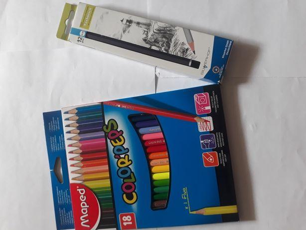Наборы карандашей цветные и чернографитные
