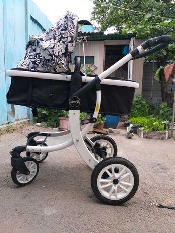Детская коляска трансформер Aimile 2 в 1