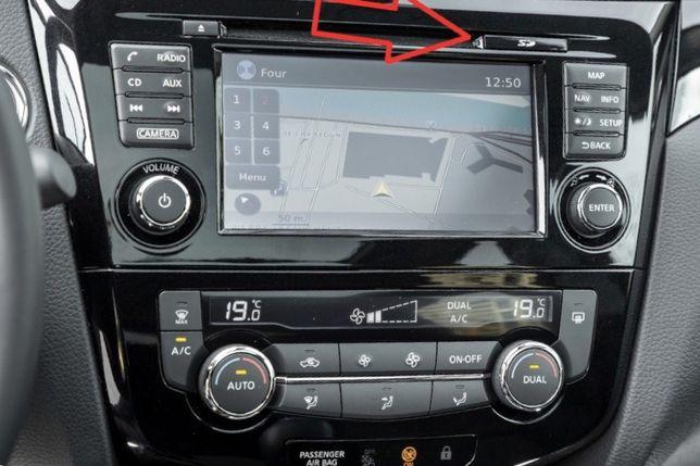 SD CARD navigatie Nissan Connect LCN1/2/3 Juke Qashqai Note Micra 2020