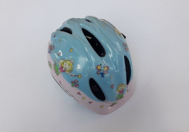 Cască biciclete KED, Prinzessin Lillifee M, 51-57cm, albastru cu roz