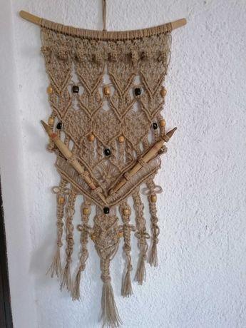 Декорация за механа, битов кът, пана, Макраме, етно