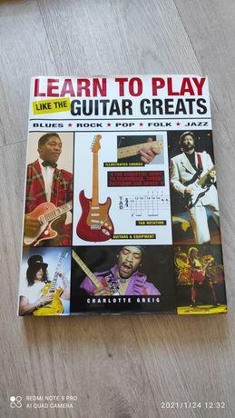 Книга Learn to play guitar