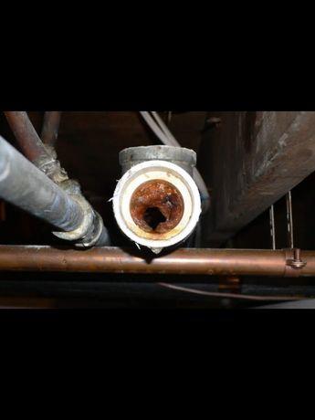 Прочистка канализации, прочистка труб, прочистка раковины, промывка