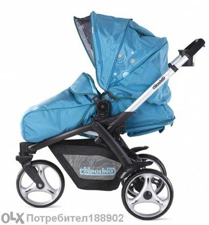 """детска количка """"чиполино-оптима""""-комбинирана"""