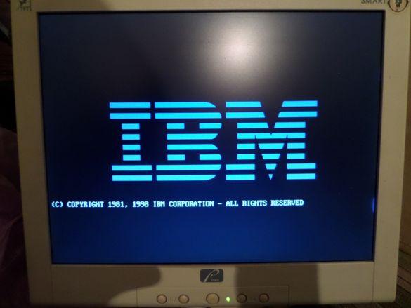 IBM и DELL ретро компютри