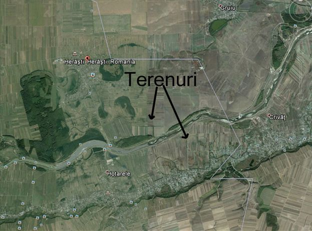 TERENURI extravilane Herasti direct proprietati 25 ha