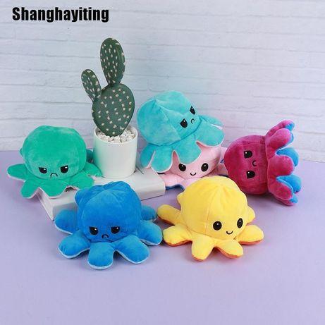 Мягкие игрушки Осьминог перевертыш Осьминожки настроение мишки Тараз