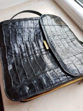 poseta,geanta piele crocodil