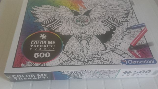 Puzzle color me therapy 500 piese