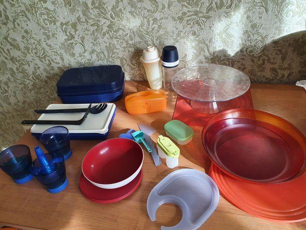 Посуда tupperware комплект дешево б/у