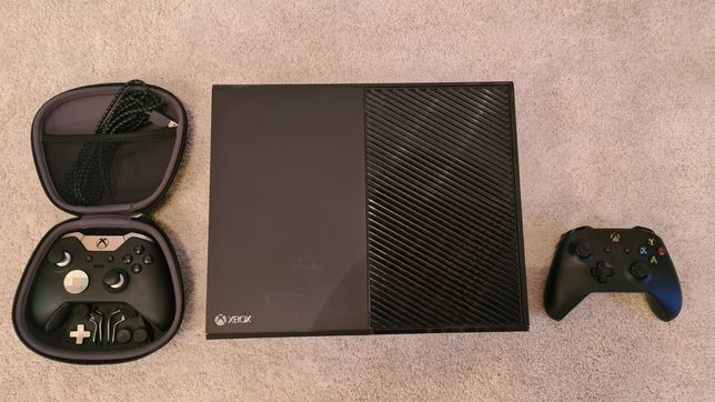 Xbox One Elite 1 TB + doua buc controller + 29 jocuri