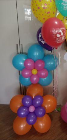 Цветочки из шаров готовые в наличие