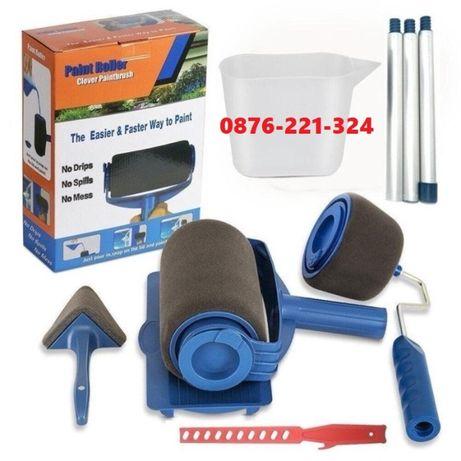 Професионален комплект валяци за боядисване - 2бр. валяк + резервоар