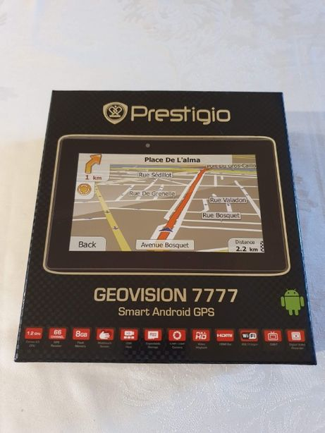 navigatie Prestigio Geovision 7777 Smart android GPS