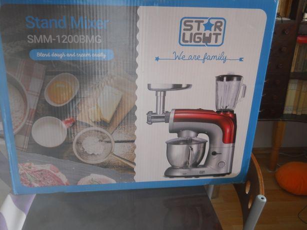 Robot bucatarie Star-Light 1200W, Bol 5.5 l Masina tocat carne Blender
