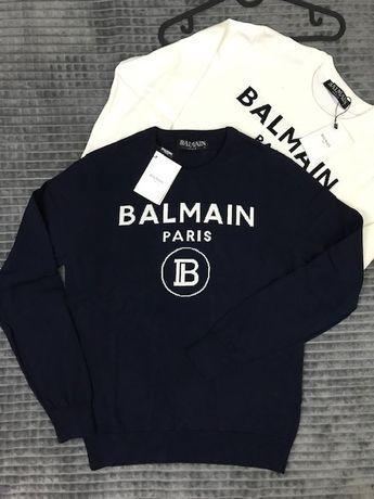 Bluza Balmain, 100% bumbac, gerseu doua culori