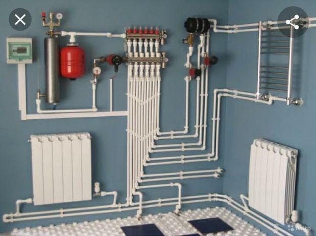 Ремонт котлов Газовых колонок водонагревателей'
