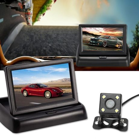 Задна камера и монитор Pioneer паркиране паркинг сензор парктроник ко