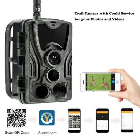 HC801 PLUS/PRO 4G Ловна камера директно наблюдение през телефон 6м гар
