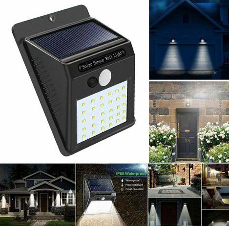 Lampa cu LED incarcare solara si senzor de miscare 30 LED